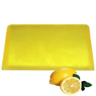 Lemon Aromatherapy Soap Slice