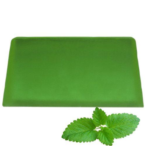 Peppermint Aromatherapy Soap Slice