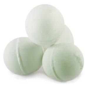 Bath Bombs with Bath Salts