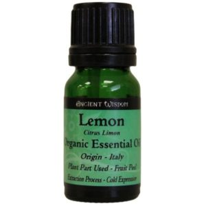 Lemon Organic Essential Oil 10ml