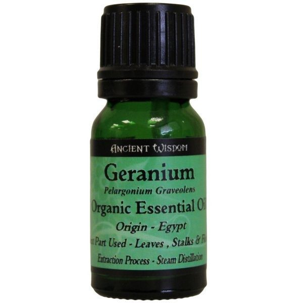 Geranium Organic Essential Oil 10ml