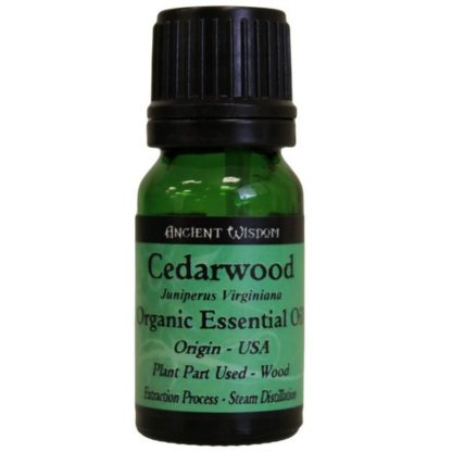 Cedarwood Organic Essential Oil 10ml