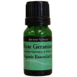 Rose Geranium Organic Essential Oil 10ml
