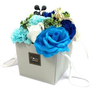 1x Soap Flower Bouquet - Blue Wedding