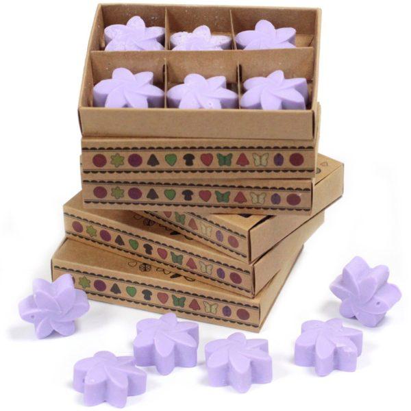 Box of 6 Luxury Soy Wax Melts - Lavender Fields