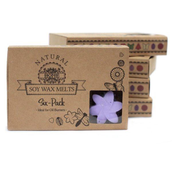Box of 6 Luxury Soy Wax Melts - Lavender Fields1