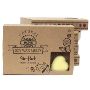 Luxury Soy Wax Melts Brandy Butter Kraft Box