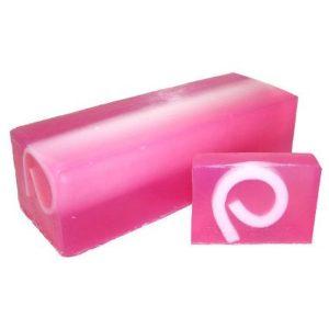 Raspberry & Blackpepper Soap Slice, approx 100gr