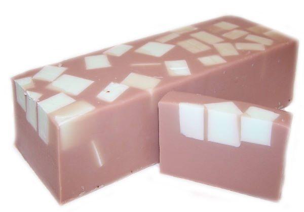Mint Choc Chunks Soap Slice, approx 100gr
