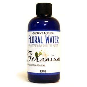 Floral Flower Water - Geranium