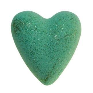 Christmas Tree Bath Heart - Green